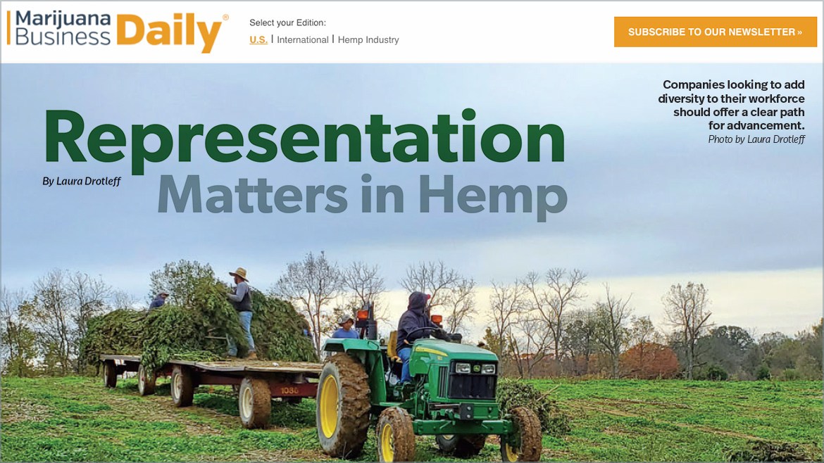 Marijuana Business Daily | Representation Matters in Hemp