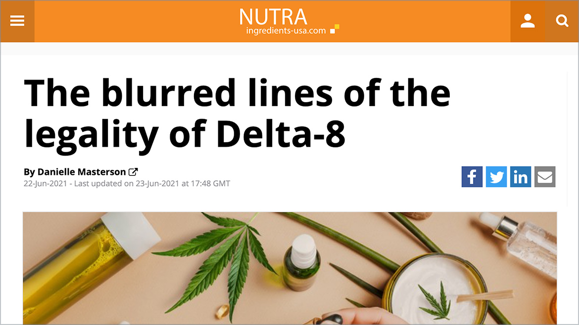 The blurred lines of the legality of Delta-8